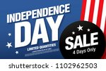 fourth of july. independence... | Shutterstock .eps vector #1102962503