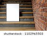 blank poster  mockup  project... | Shutterstock . vector #1102965503