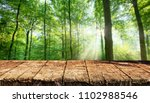 empty table background | Shutterstock . vector #1102988546