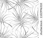 watercolor tropical seamless... | Shutterstock . vector #1102996310