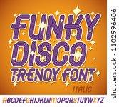 set of bright italic vector...   Shutterstock .eps vector #1102996406