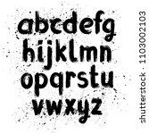 hand written calligraphy...   Shutterstock .eps vector #1103002103