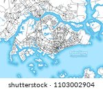 two toned map of the island of... | Shutterstock .eps vector #1103002904