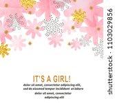 Baby Shower Girl Card Design...