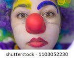 Angry Girl Clown