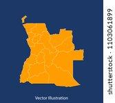 angola map   high detailed... | Shutterstock .eps vector #1103061899