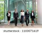 A Group Of Business People Of...