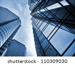 office buildings | Shutterstock . vector #110309030
