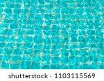 the green water reflects the... | Shutterstock . vector #1103115569