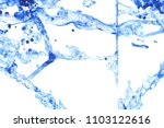 water splash on white paper.... | Shutterstock . vector #1103122616