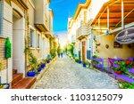 bozcaada island  turkey  ... | Shutterstock . vector #1103125079