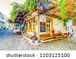 bozcaada island  turkey  ... | Shutterstock . vector #1103125100