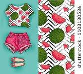 vector background of... | Shutterstock .eps vector #1103130536