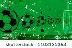 abstact background  with soccer ...   Shutterstock .eps vector #1103135363