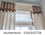 curtain interior decoration in... | Shutterstock . vector #1103142728