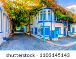 bozcaada island  turkey  ... | Shutterstock . vector #1103145143
