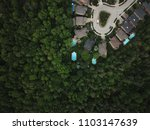 top view aerial drone image of... | Shutterstock . vector #1103147639