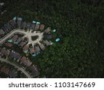 top view aerial drone image of... | Shutterstock . vector #1103147669