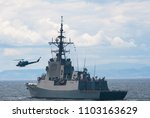 A war ship frigate at sea in a nato operation against piracy. A nato military grey vessel  at sea.
