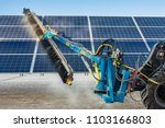 solar energy  a clean way of... | Shutterstock . vector #1103166803