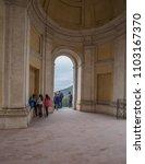 villa d'este  tivoli  lazio... | Shutterstock . vector #1103167370