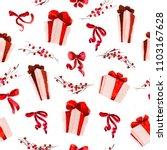 vector artistic seamless... | Shutterstock .eps vector #1103167628