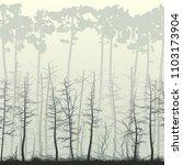 square illustration of swamp... | Shutterstock .eps vector #1103173904