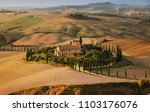 Golden Autumn In Val D'orcia ...
