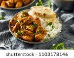 homemade chicken tikka masala... | Shutterstock . vector #1103178146