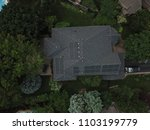 top down aerial drone image of... | Shutterstock . vector #1103199779