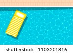 summer pool party banner with... | Shutterstock .eps vector #1103201816