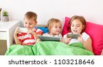 childhood  technology and... | Shutterstock . vector #1103218646