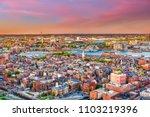 boston  massachusetts  usa... | Shutterstock . vector #1103219396
