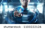 business  augmented reality ... | Shutterstock . vector #1103222126