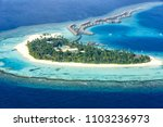 maldives island vacation... | Shutterstock . vector #1103236973