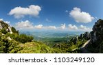 panoramic view from the great... | Shutterstock . vector #1103249120