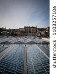 view of edinburghs market... | Shutterstock . vector #1103257106