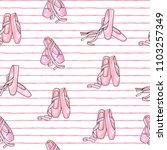 vector illustration . ballet... | Shutterstock .eps vector #1103257349