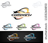 auto car logo for sport cars ... | Shutterstock .eps vector #1103260853