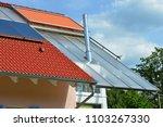 modern low energy residential...   Shutterstock . vector #1103267330