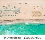 florida  south beach in miami... | Shutterstock . vector #1103307530