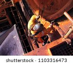 rope access industrial... | Shutterstock . vector #1103316473