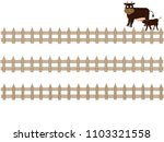 the title frame of the ranch. i ... | Shutterstock .eps vector #1103321558