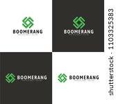 boomerang logo   different... | Shutterstock .eps vector #1103325383