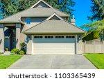 garage  garage doors and... | Shutterstock . vector #1103365439