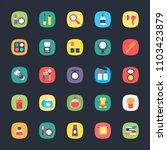 app flat vectors | Shutterstock .eps vector #1103423879