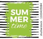 the summer time. vector... | Shutterstock .eps vector #1103435084
