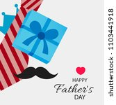 happy father's day vector... | Shutterstock .eps vector #1103441918