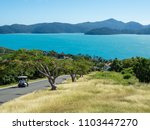 Buggy transport is the best choice on Hamilton Island