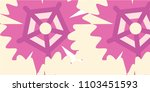 abstract multicolored pattern... | Shutterstock .eps vector #1103451593